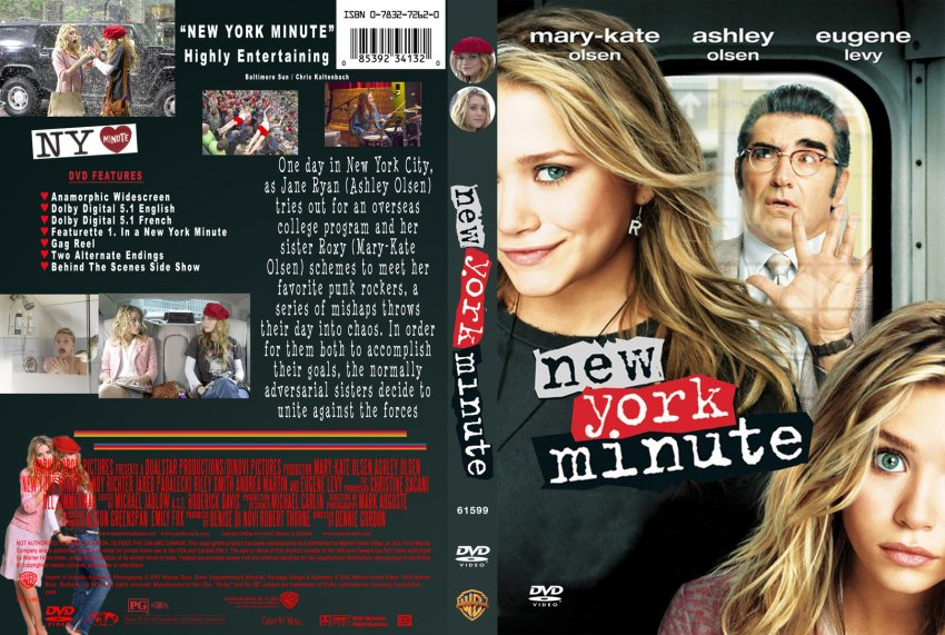 New York Minute - Movie DVD Custom Covers - 6New York Minute :: DVD ...
