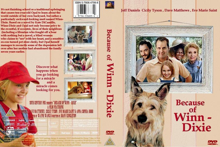 Because of winn dixie movie
