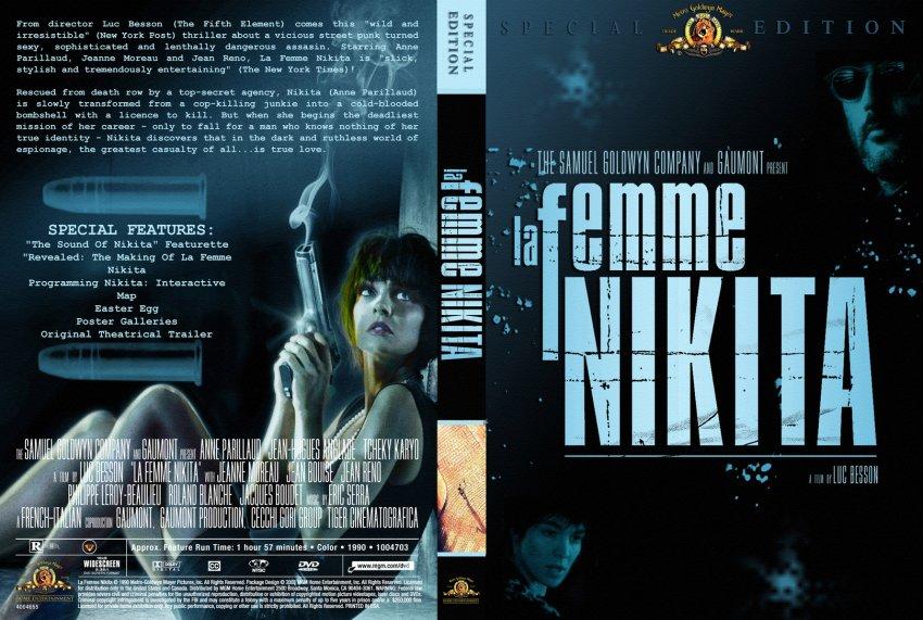 La Femme Nikita - Movie DVD Custom Covers - 70lafemmenikita
