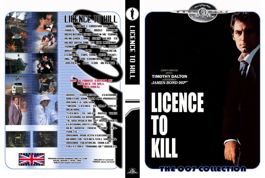 licence to kill - Movie DVD Custom Covers - 73316-licence ...