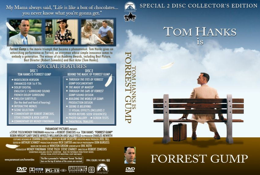 an analysis of the character of forrest gump At the centre of the film 'forrest gump' is the character of forrest himself, the simple-minded, good hearted, straight-talking alabama boy played by academy award winner tom hanks hollywood movies have always divided people into 'types.