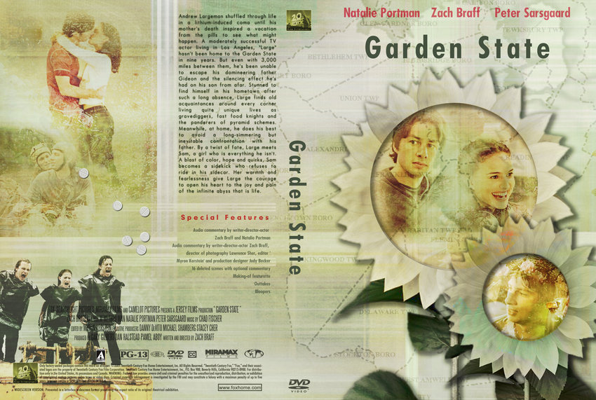 Garden State Movie Dvd Custom Covers 753garden State