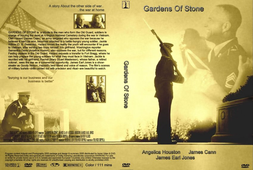 Garden Of Stone Movie Gardens of stone movie dvd custom covers 753gardens of stone cc gardens of stone workwithnaturefo