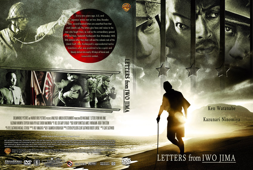 Letters From Iwo Jima - Movie DVD Custom Covers ...