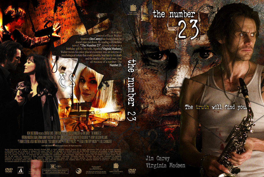 The Number 23 - Movie DVD Custom Covers - 753Number 23 CyberClown ...