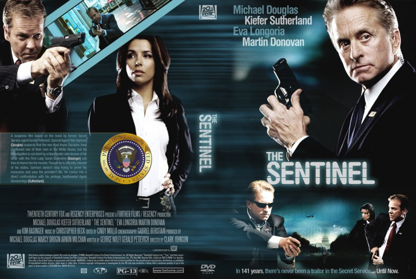 the sentinel movie dvd custom covers 753sentinel cc