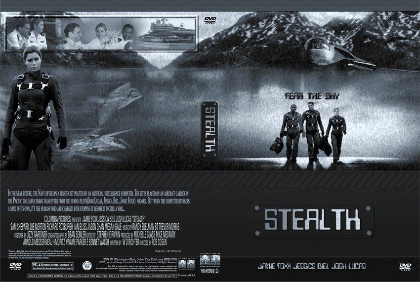 Stealth - Movie DVD Custom Covers - 753Stealth Steel Blue ...