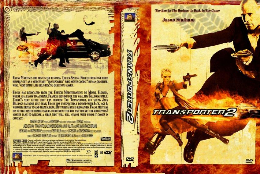 Transporter 2 - Movie DVD Custom Covers - 595transporter2 ... |Transporter 2 Dvd Cover