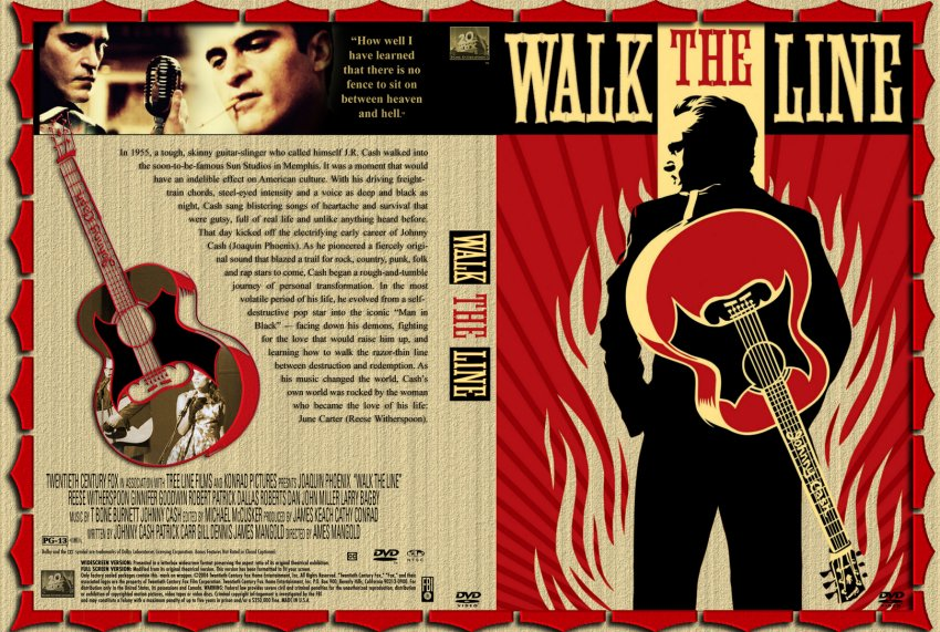 the gallery for gt walk the line movie dvd cover