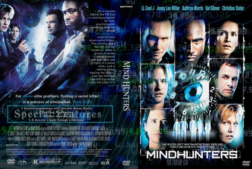 mindhunters movie dvd custom covers 753mindhunters cc