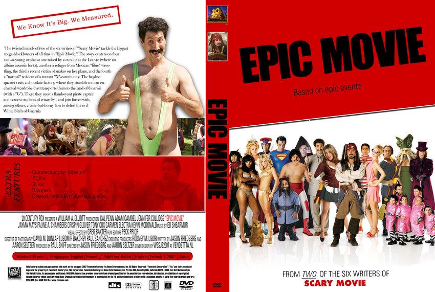 Epic Movie - Movie DVD Custom Covers - 7958R1DBV :: DVD Covers