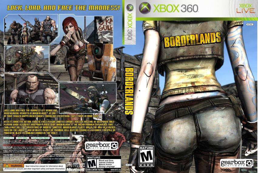 Borderlands XBOX360 NTSC Custom