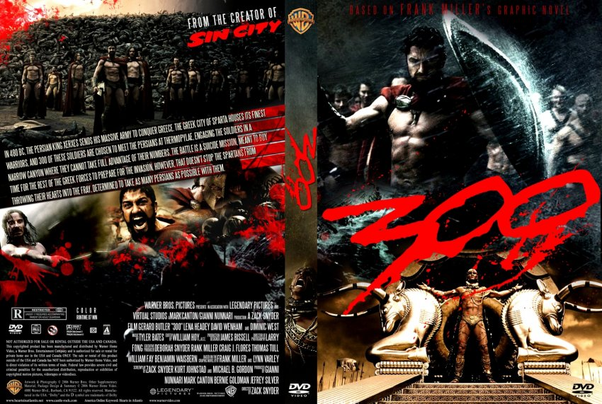 Gallery For > 300 Dvd Cover