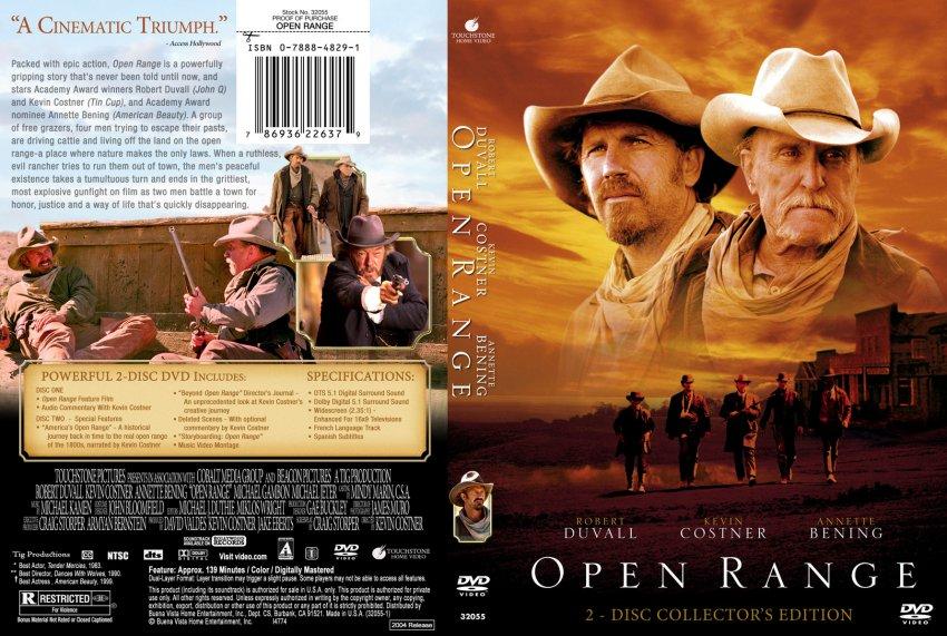 open range movie dvd custom covers 872open range sharky000 dvd covers. Black Bedroom Furniture Sets. Home Design Ideas