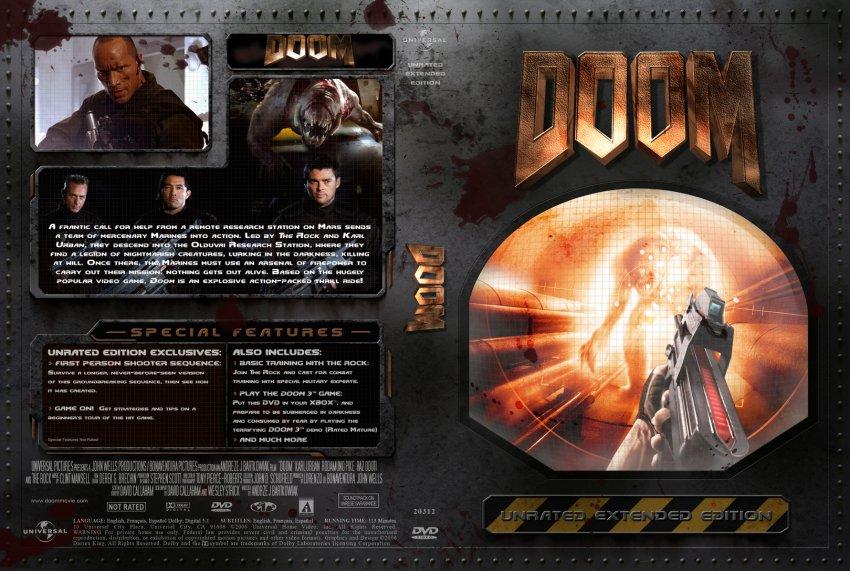Doom 3 dvd cover : Trailer project versus j