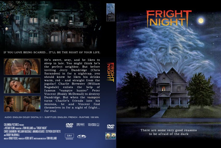 fright night movie dvd custom covers 9601dvd frightnight alluneedislove dvd covers. Black Bedroom Furniture Sets. Home Design Ideas