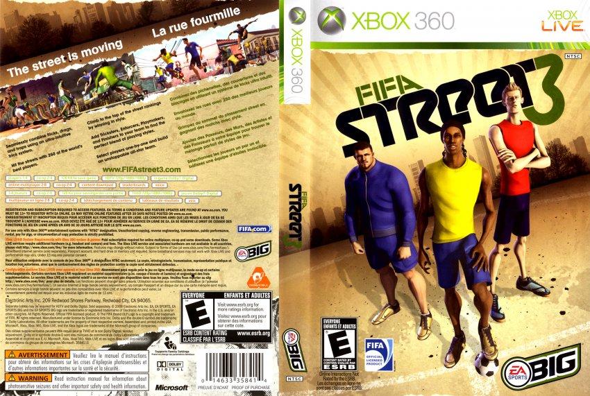 Fifa Street 5 Fifa Street 3