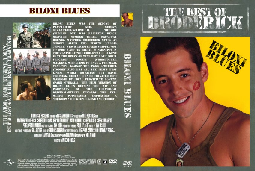 Biloxi Blues Movie Dvd Custom Covers Biloxi Blues Dvd Covers