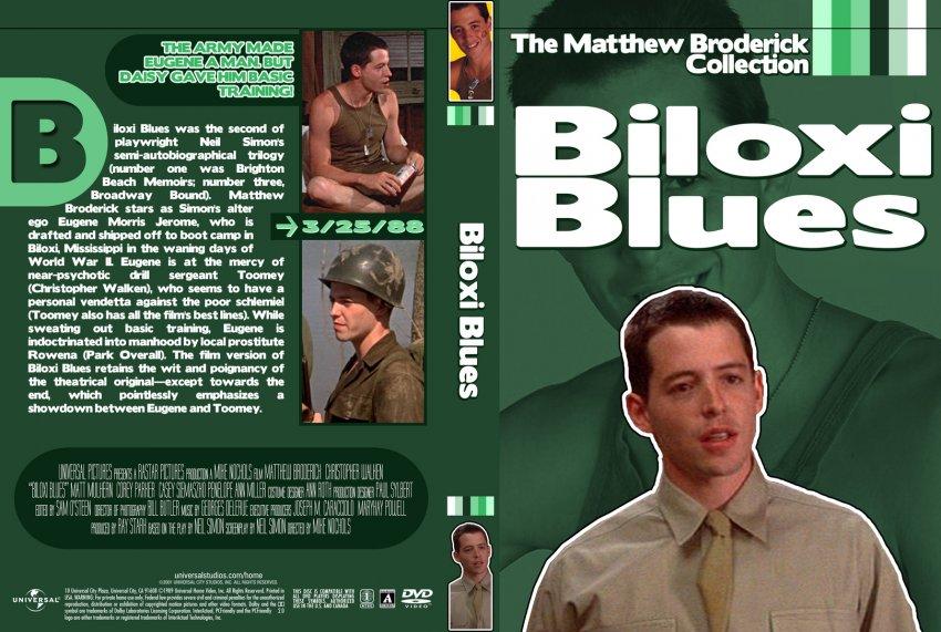 Biloxi Blues Movie Dvd Custom Covers Biloxi Blues1 Dvd Covers