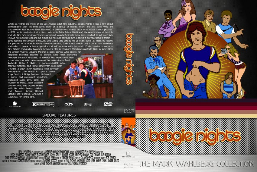 cover Boogie nights dvd