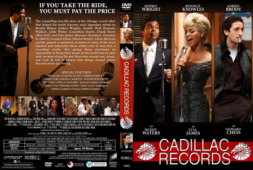 cadillac records dvd cover cadillac records movie dvd custom covers. Cars Review. Best American Auto & Cars Review