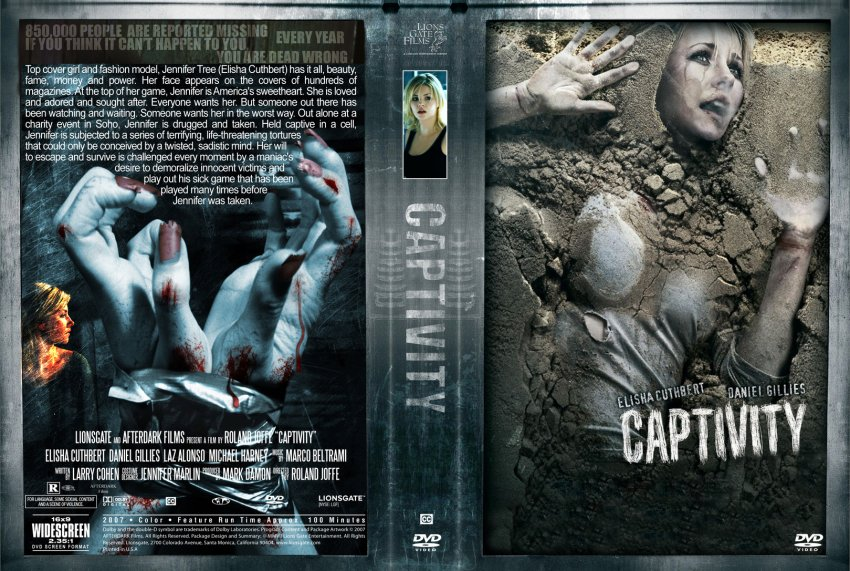 Captivity - Movie DVD Custom Covers - Captivity3 :: DVD Covers