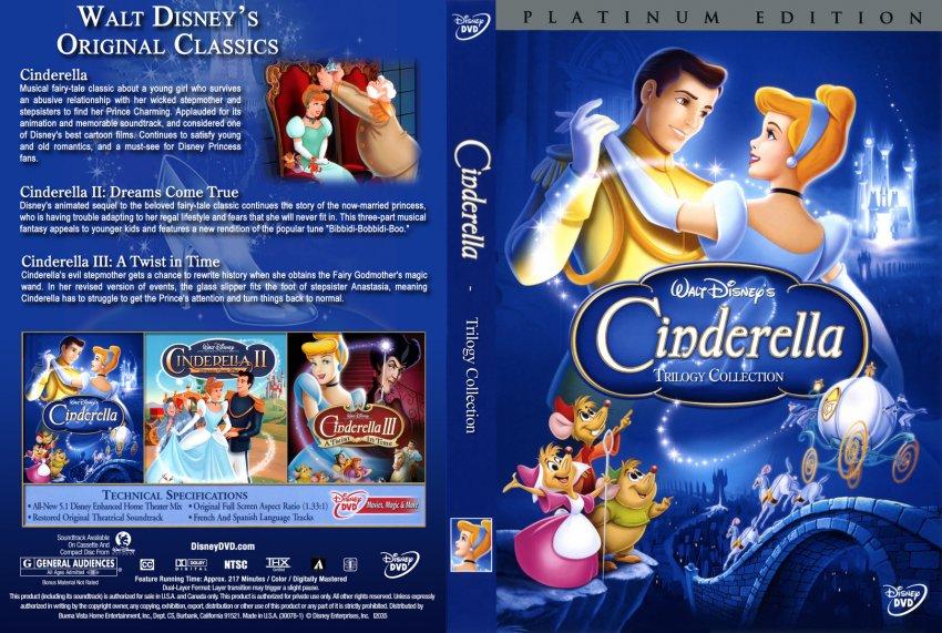 Dvd Cover Cinderella