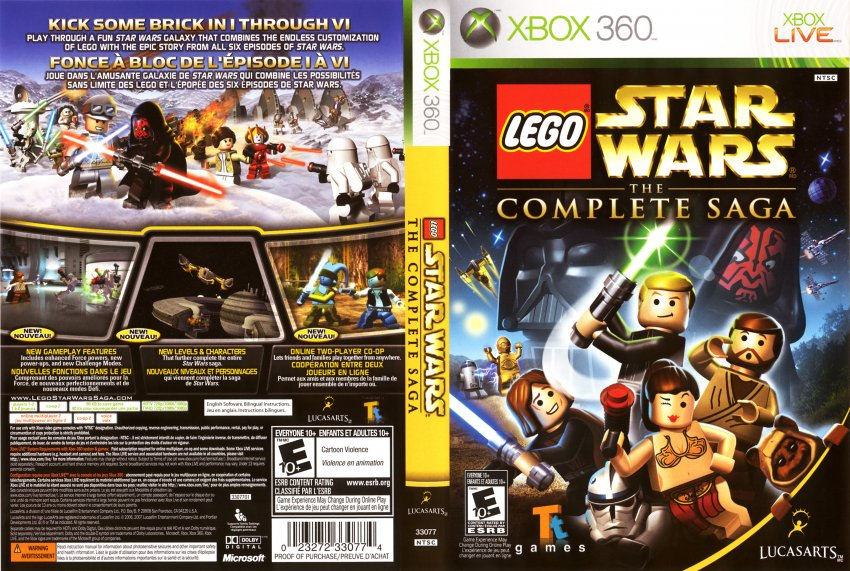 does lego star wars iii the clone wars have online co op xbox