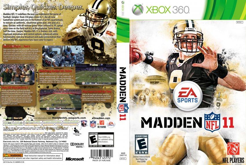 Madden Nfl 11 Madden Nfl 11