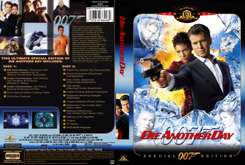 Die another day dvd cover