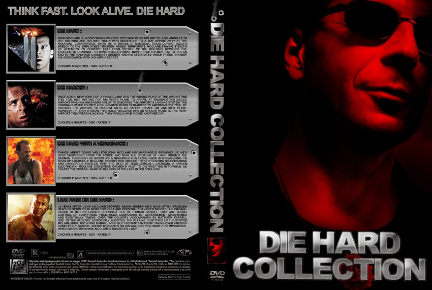 die hard collection movie dvd custom covers die hard collection perricone dvd covers. Black Bedroom Furniture Sets. Home Design Ideas