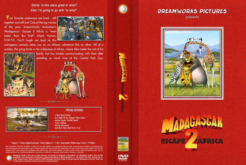 Madagascar 2 Movie Madagascar 2 Dreamworks