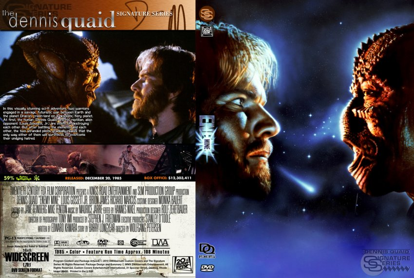 Enemy Mine - Movie DVD Custom Covers - Enemy Mine :: DVD ...