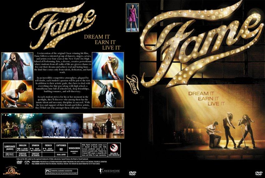 Fame Movie 2009 DVD