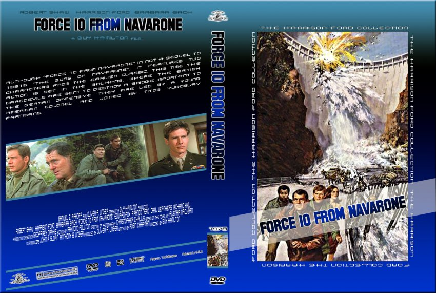 Force 10 From Navarone - The Harrison Ford Collection ...