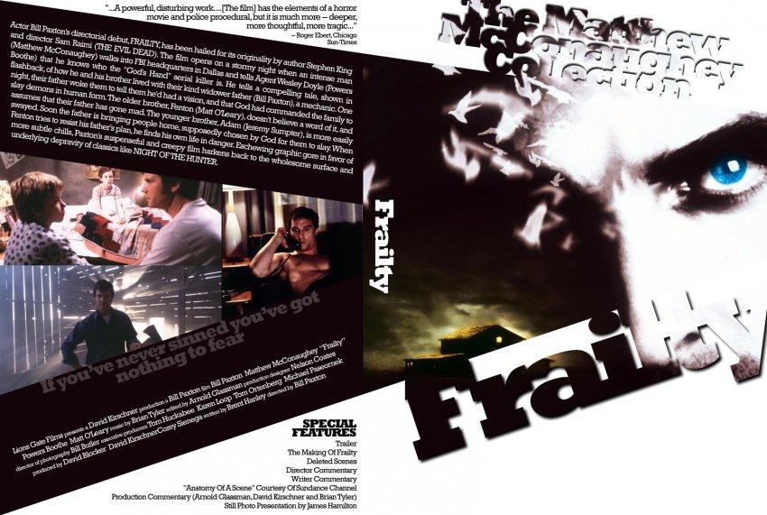 Frailty - The Matthew McConaughey Collection - Movie DVD Custom ...