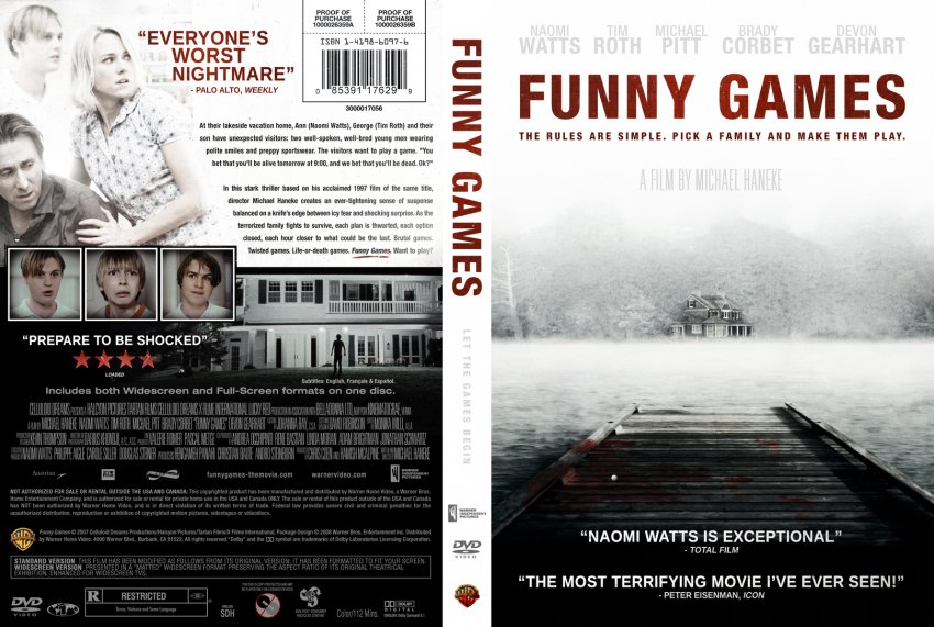 Funny Games - Movie DVD Custom Covers - Funny Games Ace :: DVD Covers