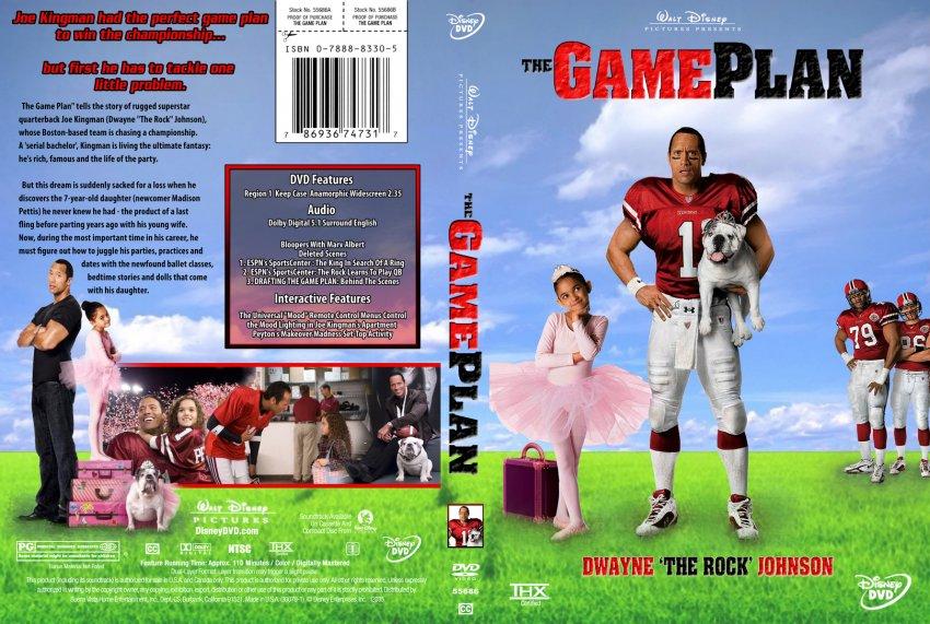 Game Plan Dvd Game Plan