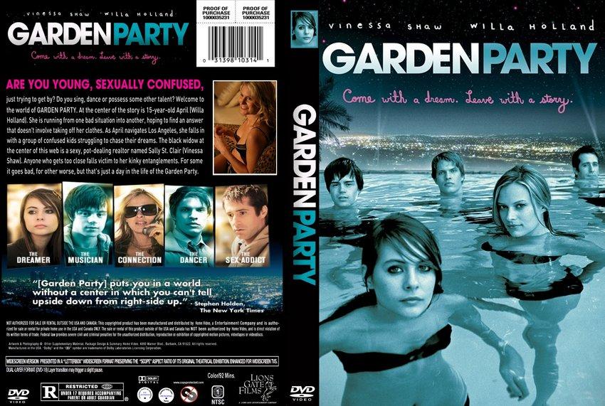 Garden Party Movie Dvd Custom Covers Garden Party