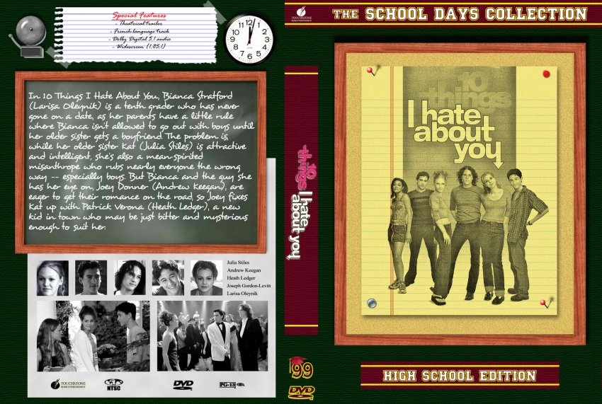 10 Things I Hate About You Cover: The School Days Collection