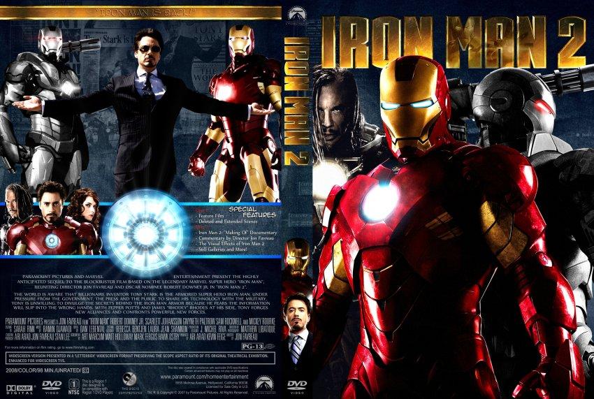 Iron Man 2Iron Man Dvd Cover