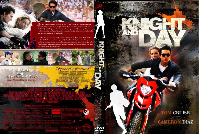 Knight and day movie dvd custom covers knight day dvd covers