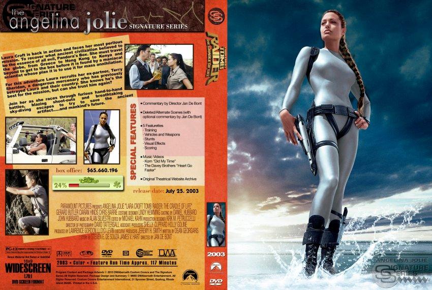 Lara Croft Tomb Raider - The Cradle Of Life - Movie DVD ...