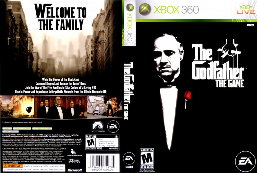 the godfather cheat codes xbox 360