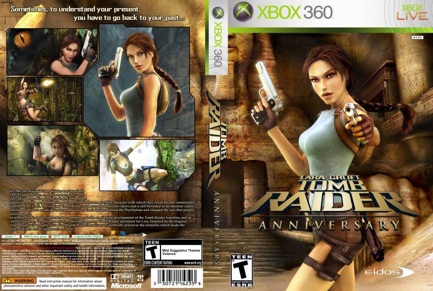 Tomb Raider Anniversary XBOX360 Custom - XBOX 360 Game ...