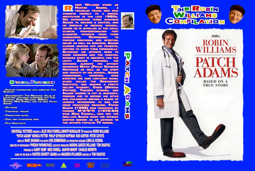 Patch Adams - The Robin Williams Collection - Movie DVD ...