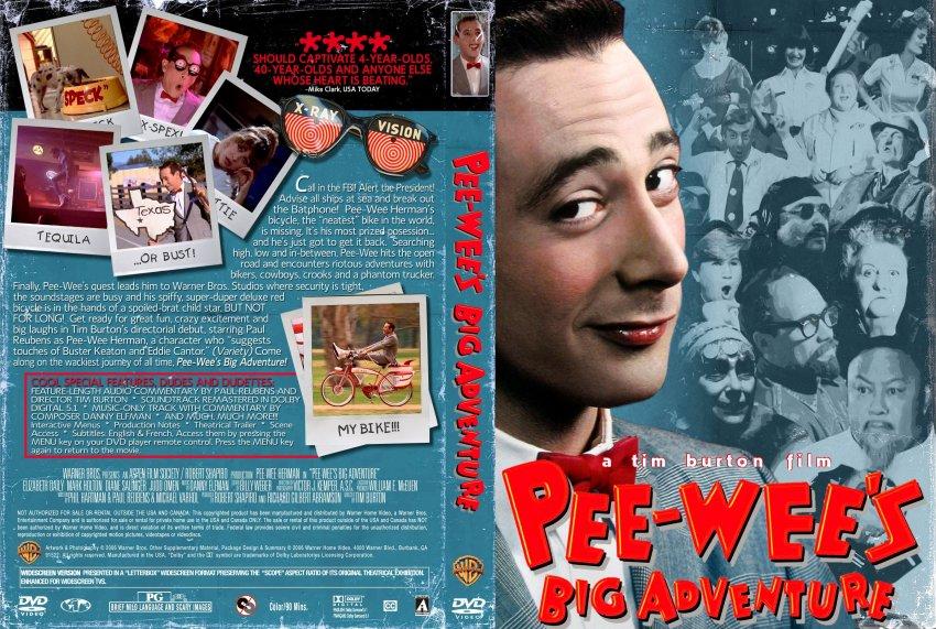Aventure gros dvd pee wee