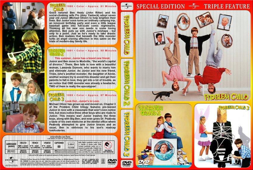 Problem Child Trilogy - Movie DVD Custom Covers - Problem ...