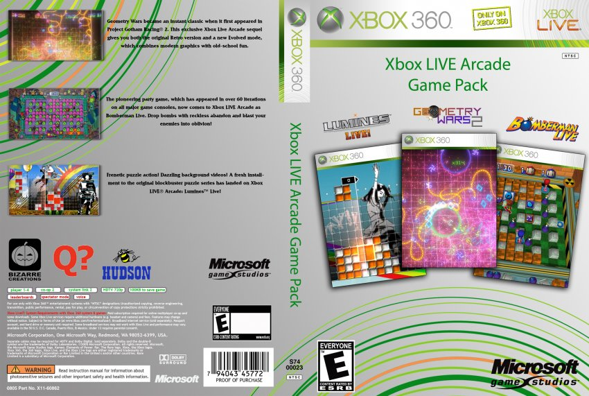 Download Xbox 360 Arcade Games Flash Drive - porchembark Xbox 360 Game Covers Download