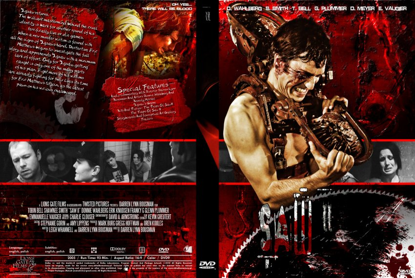 Saw Movies Dvd Covers Www.dvd-covers.org Saw ii